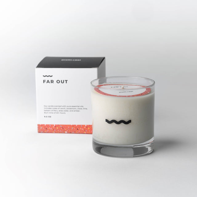 pretti.cool - Soy Candle - Far Out - MAVEN