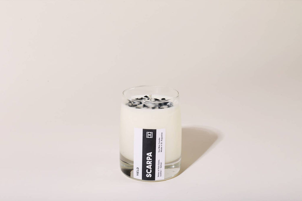 YIELD - 8 oz Scarpa Candle - MAVEN