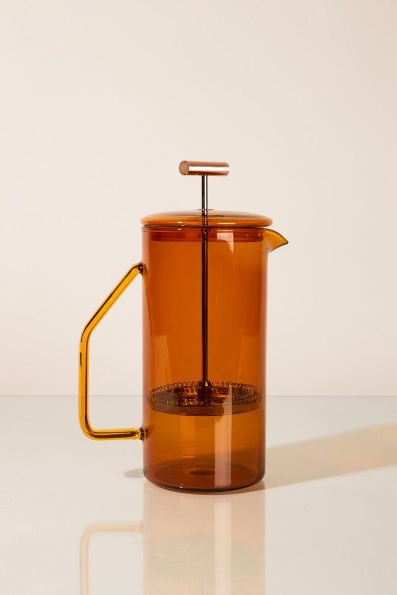 YIELD - Amber Glass French Press - MAVEN