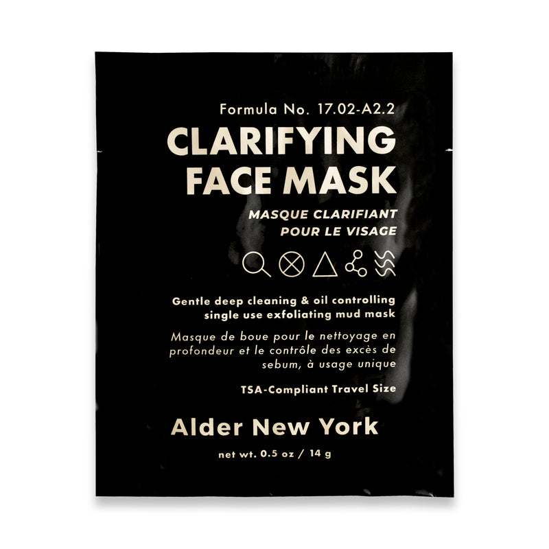 Alder New York - Clarifying Face Mask - Single Use