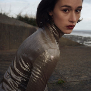 5ELEVEN MAGAZINE: FEATURES AW19 GOLD POLO NECK