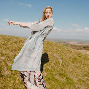 KUNST Magazine Editorial: Featuring Silk Clan Dress