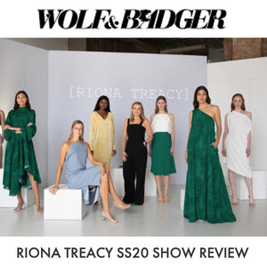WOLF & BADGER: SS20 REVIEW