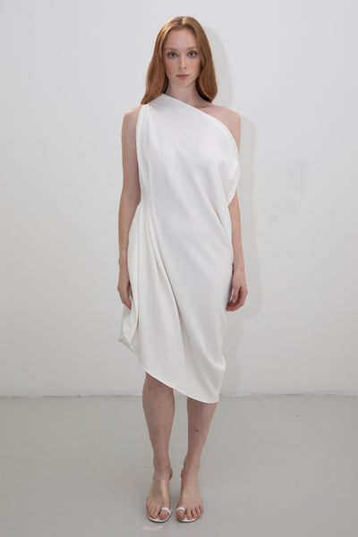 riona treacy white dress ss20
