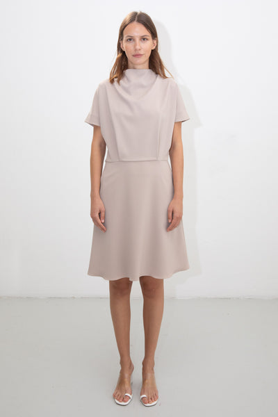 riona treacy nude dress ss20