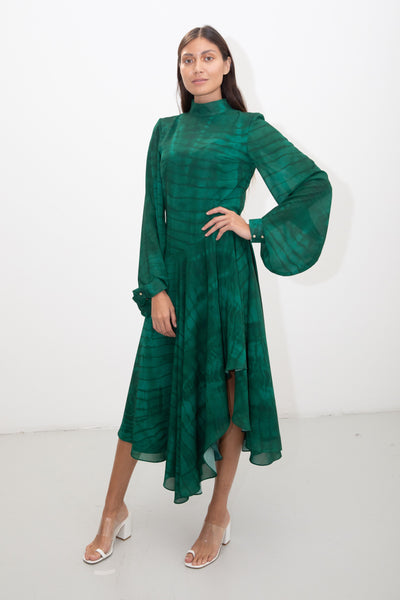 riona treacy green dress ss20