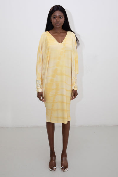 riona treacy yellow dress ss20