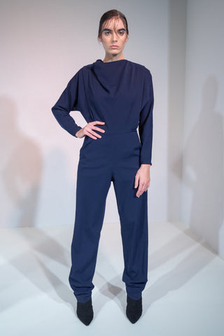 NAVY JUMPSUIT RIONA TREACY