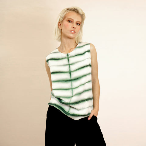 silk top shibori riona treacy
