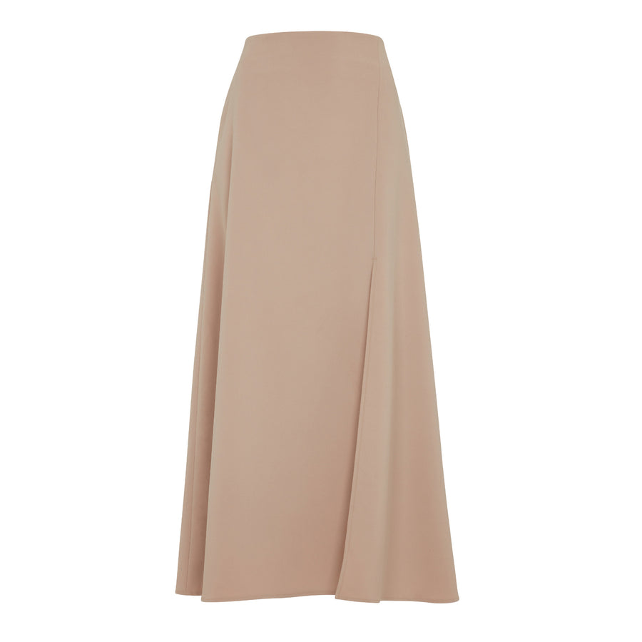 NUDE PENCIL SKIRT