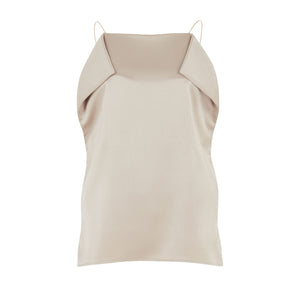 SATIN ORIGAMI CAMISOLE TOP