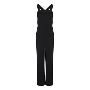 black pinafore overalls jumpsuit riona treacy