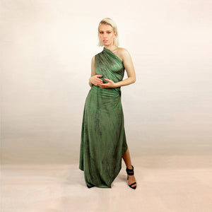 GREEN JUNGLE DRESS