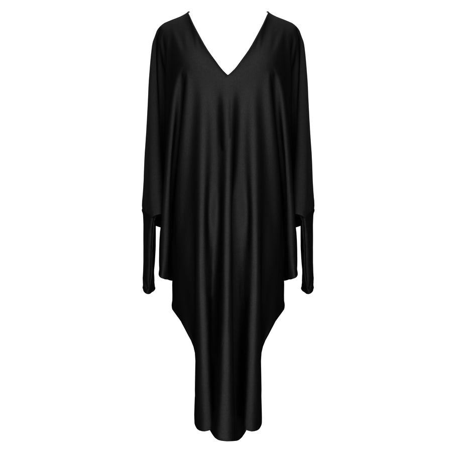 BLACK REVERSIBLE GHOST DRESS