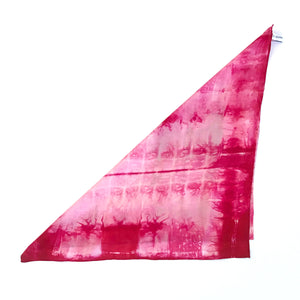 SILK CHERRY NECKERCHIEF SCARF