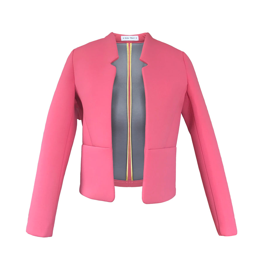 Pink Neoprene Jacket