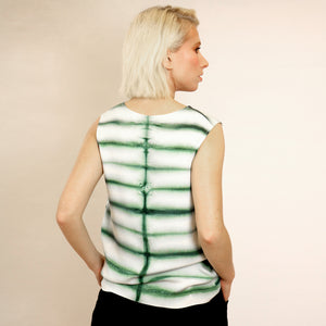 SILK SHIBORI TOP