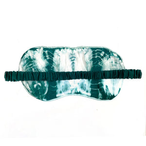 SILK GREEN SLEEP EYE MASK