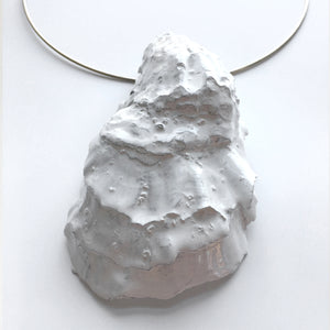 WHITE LATEX OYSTER CHOKER