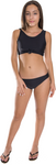 Girl's Two Piece Tie Front Bathing Suit