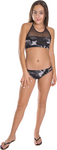 Girl's Two Piece Camouflage Bathing Suit