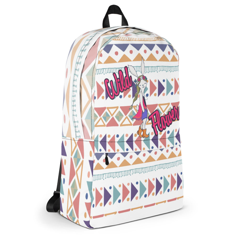 BoHo Bunny Backpack / Laptop Bag