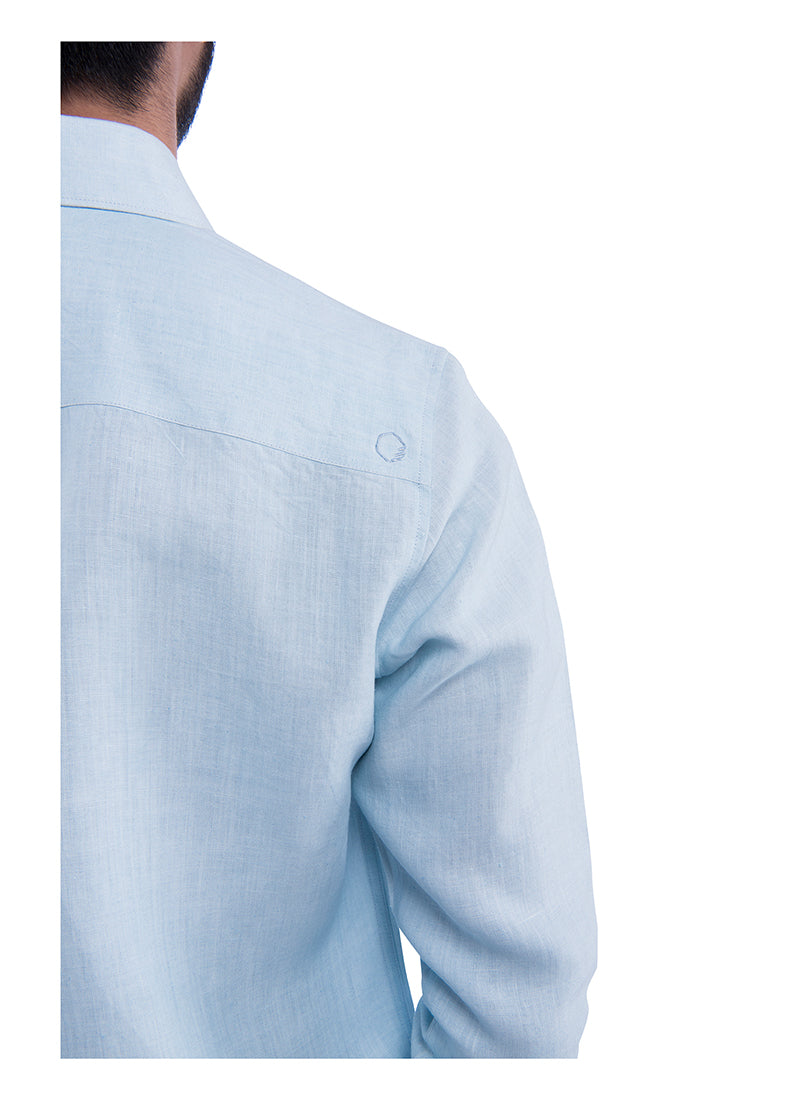 Classic Sativa 188 Shirt - Blue  (Only Size 46 left)