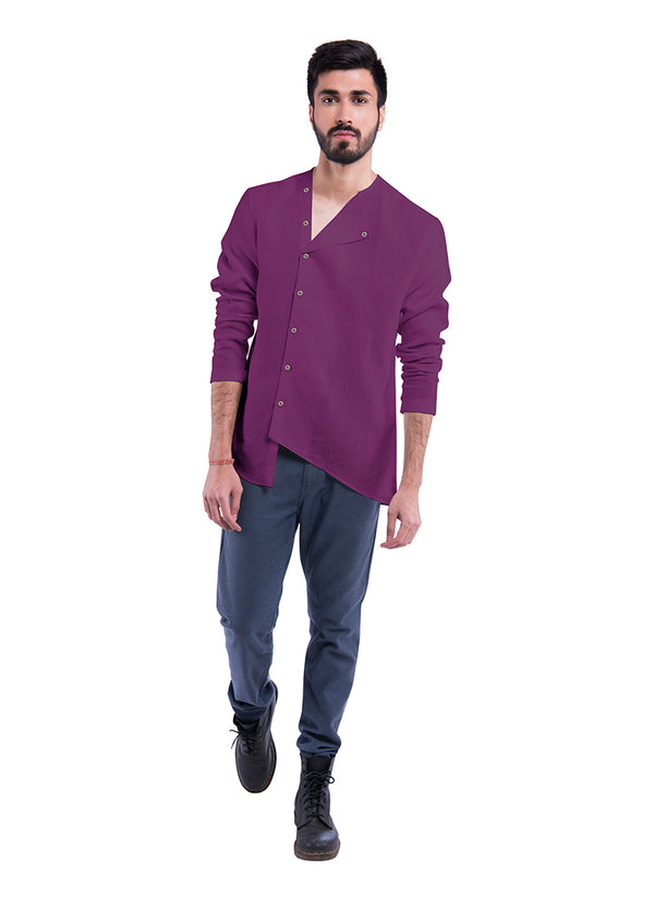 Wabi Sabi Sativa 188 Shirt - Purple
