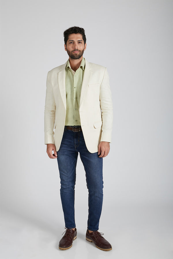 Firestone Formal Blazer - Off White