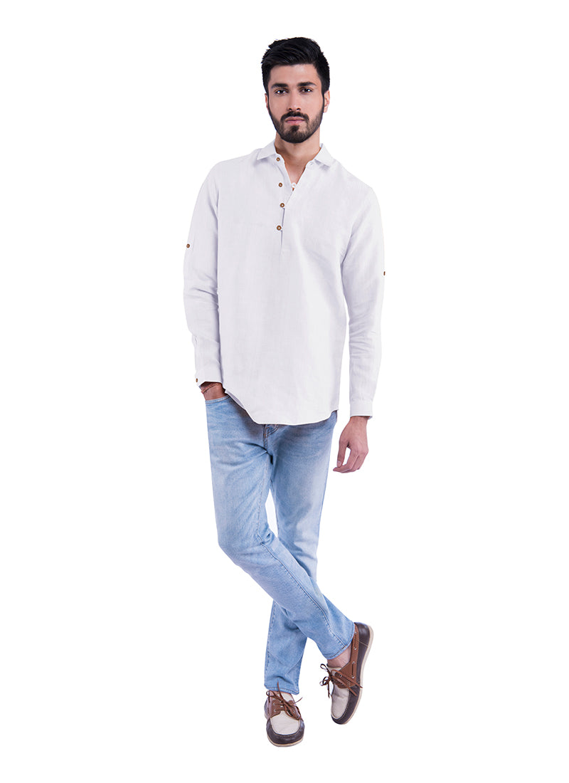 Fusion Sativa 188 Shirt - White