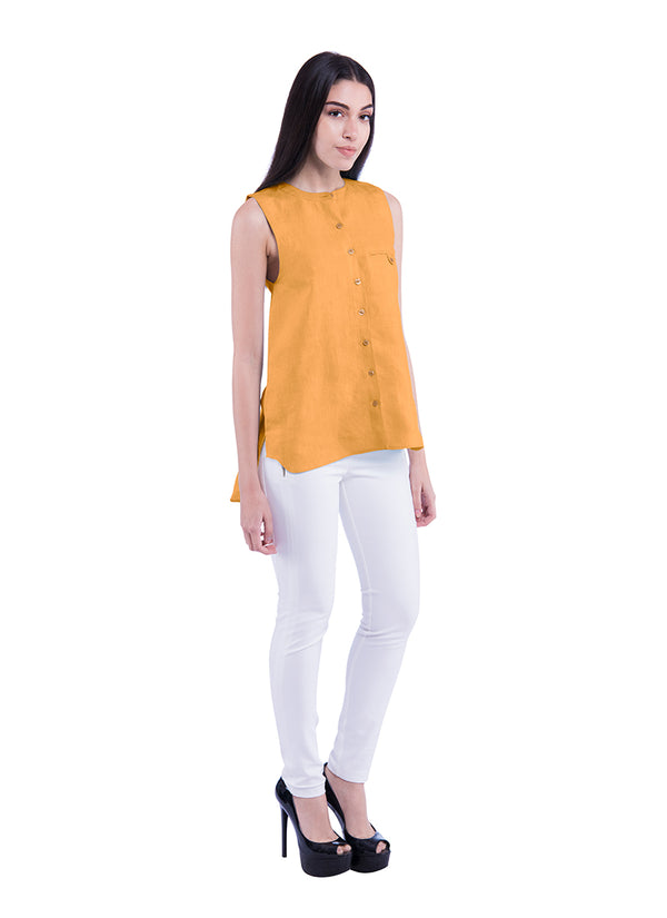 Summer Sativa 188 Shirt - Mustard