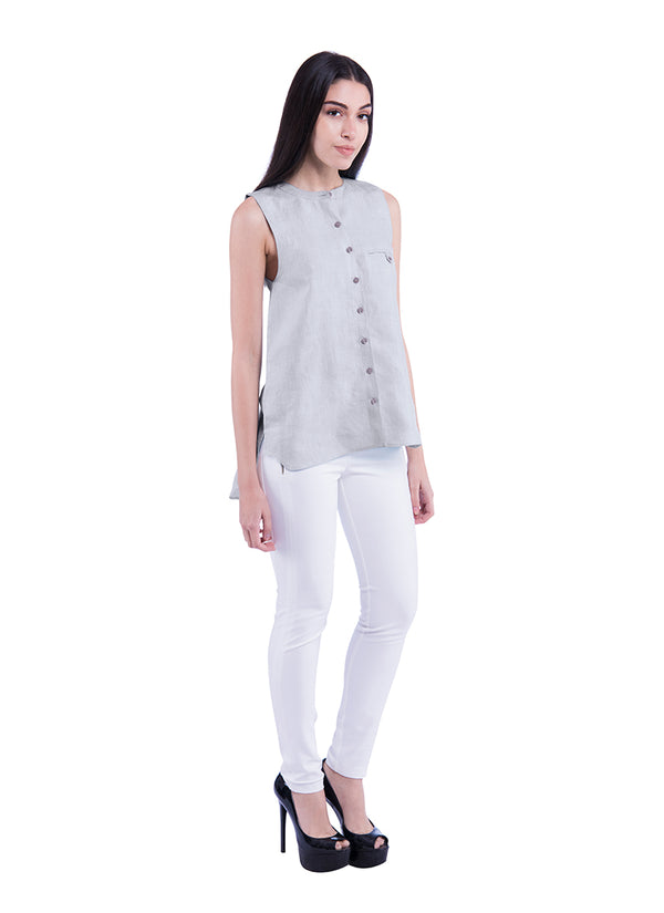 Summer Sativa 188 Shirt - Light Grey