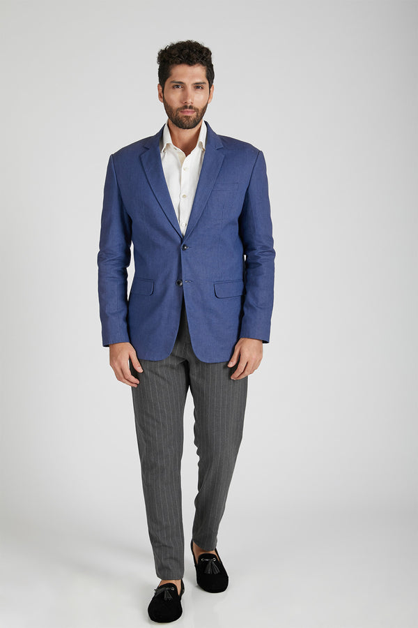 Firestone Formal Blazer - Navy