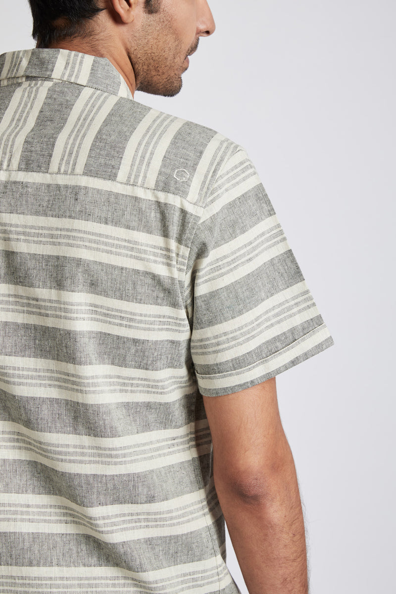 Arrow Resort Shirt - Horizontal Stripes