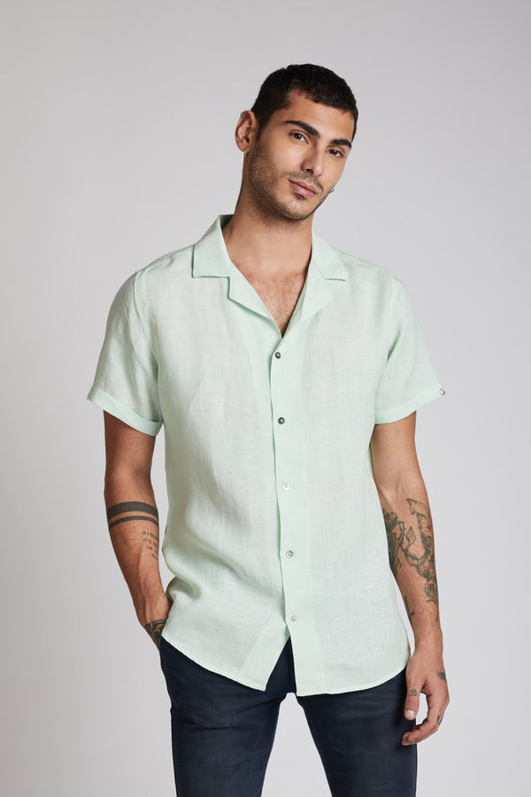 Arrow Resort Shirt - Mint Green