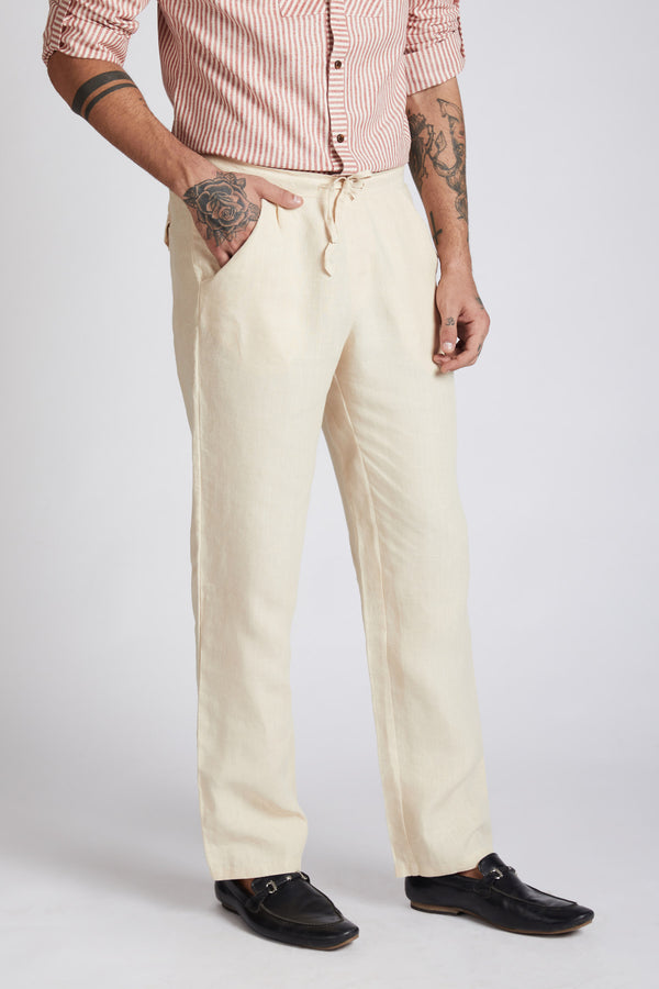 Beacon Casual Pants - Beige