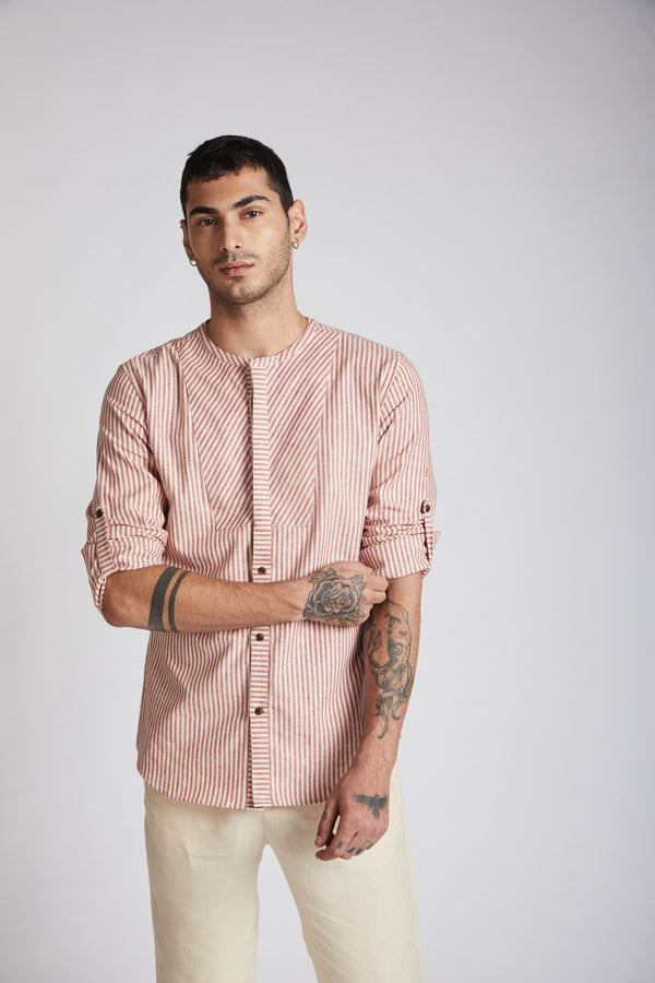 Kaleidoscope Round Neck Shirt -