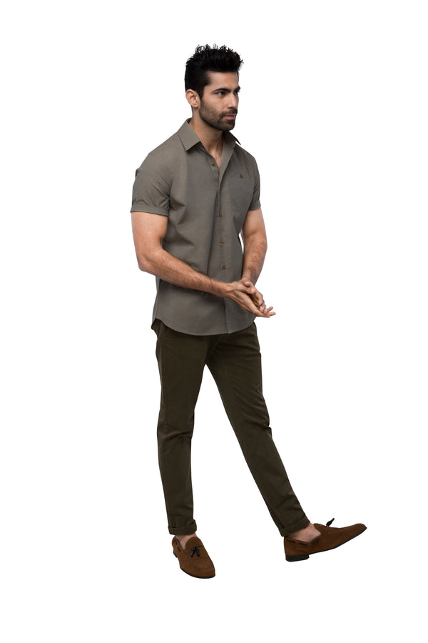 Burrow Half Sleeve Shirt - Sage