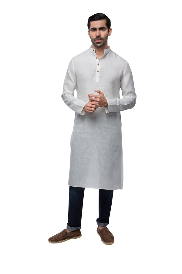 Earth Classic Kurta - White (Only 46 Left)