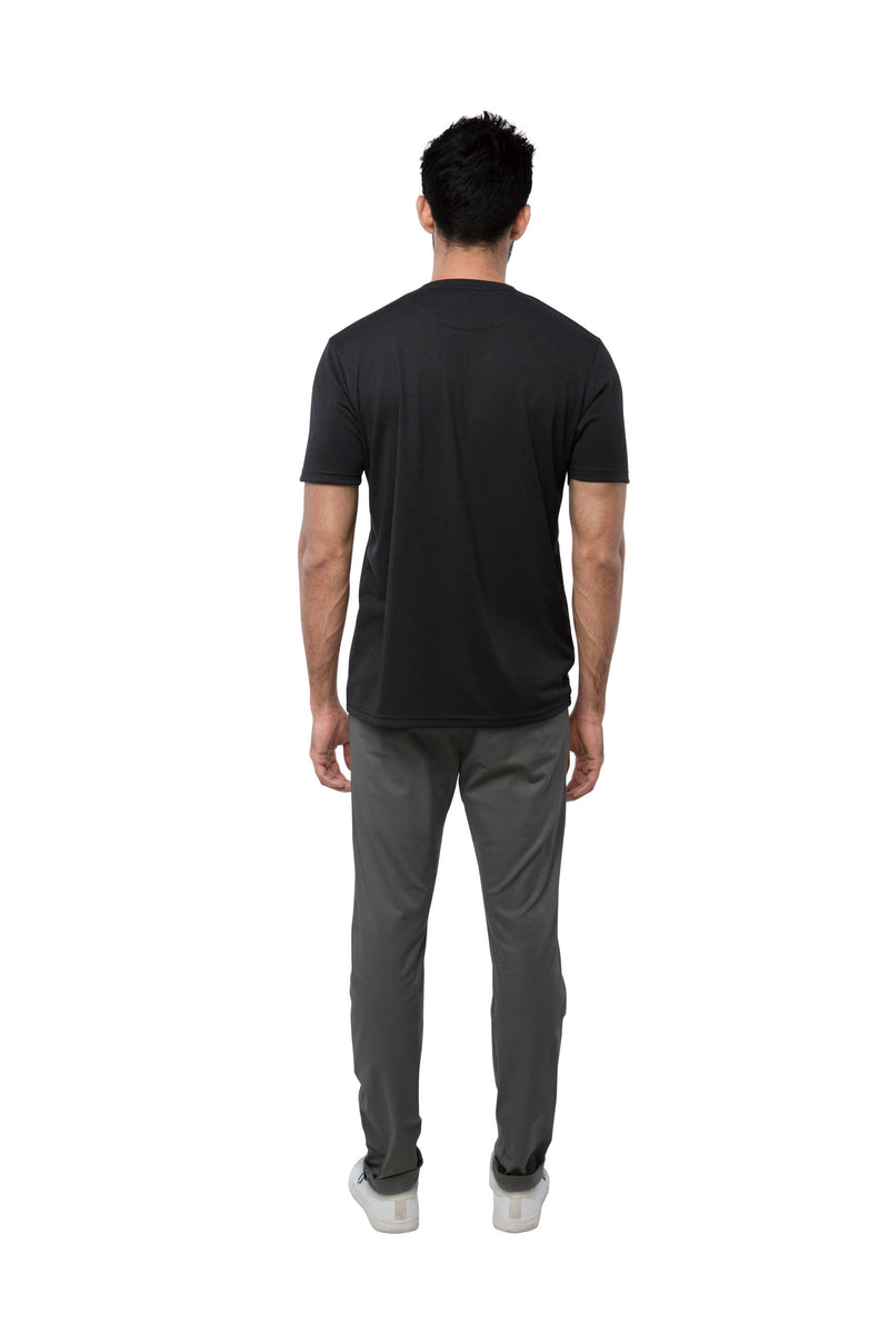Eclipse Double Pocket T - Shirt  - Dark Grey (Only Size S left)