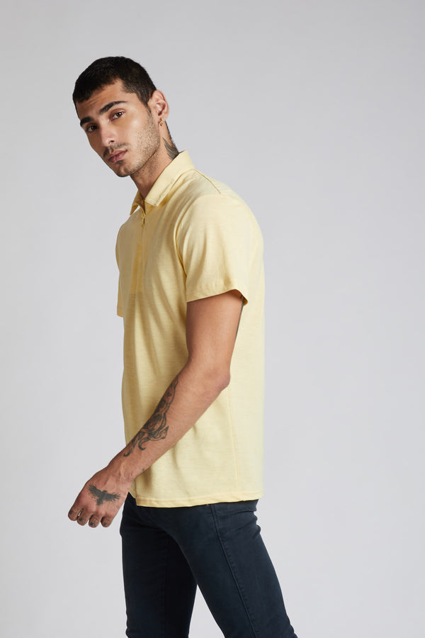 Gulf Polo T- Shirt - Yellow