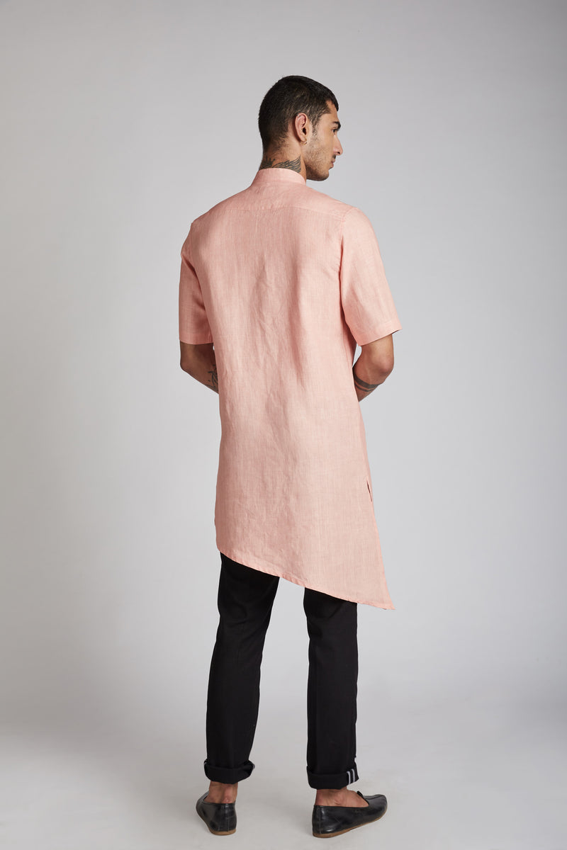 Metamorphosis Kurta - Peach