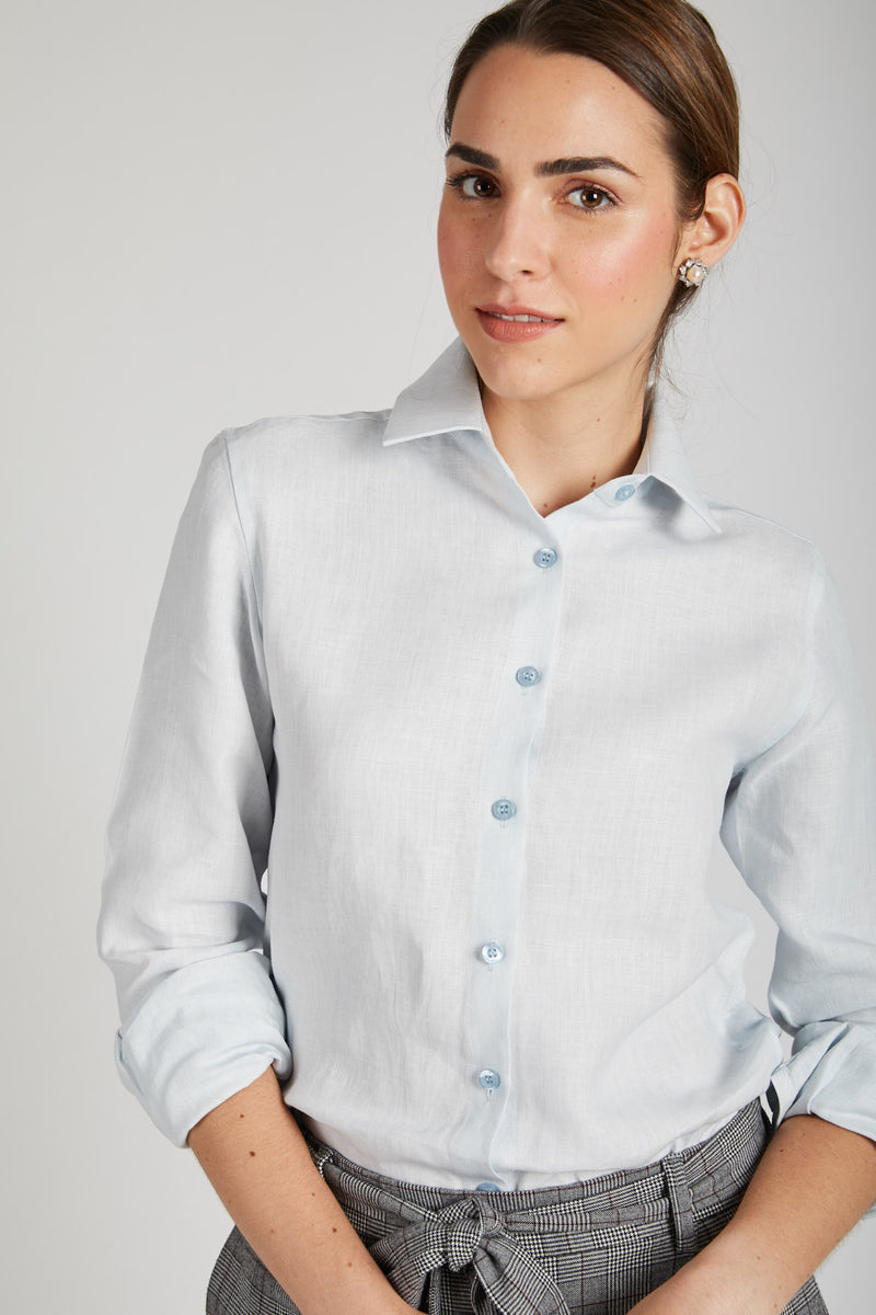 Mist Full Sleeve Shirt - Blue