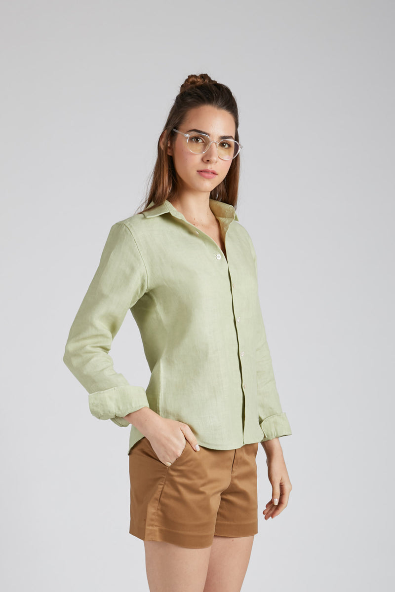 Mist Full Sleeve Shirt - Green