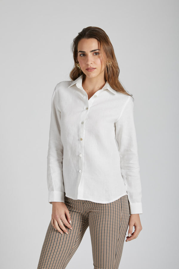 Mist Full Sleeve Shirt - White
