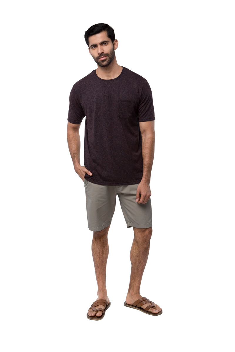 Nomad Classic T- Shirt  - Maroon