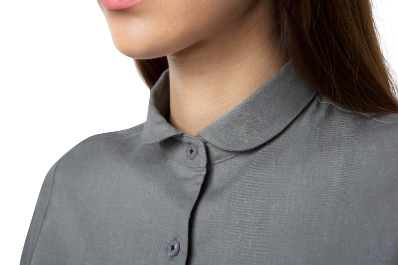 Pebble Half Sleeve Shirt - Grey