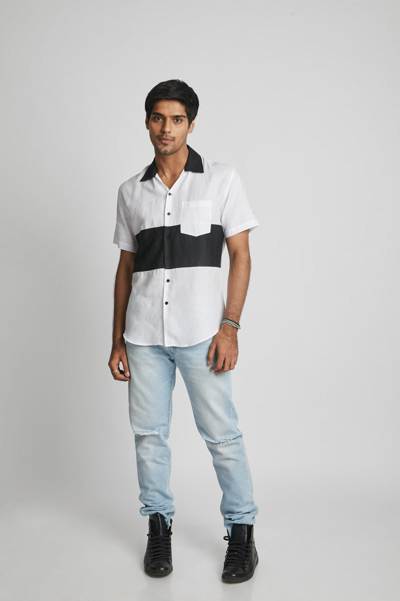 Block Shirt - Radiate Colour Black