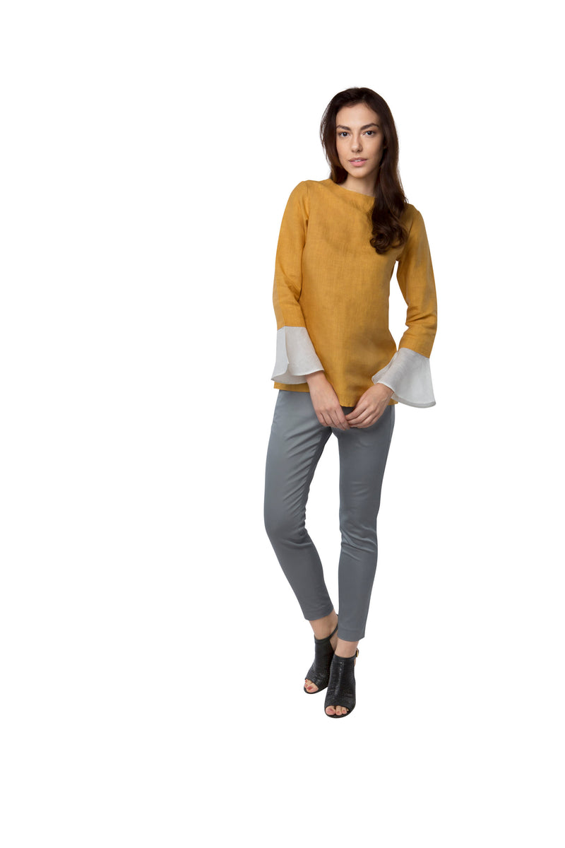 Tulip Top - Yellow