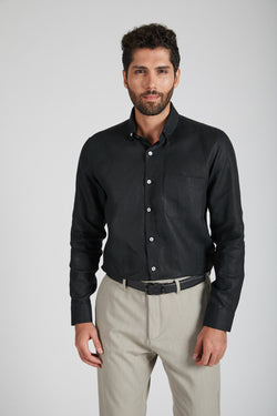 Velocity Buttondown Shirt - Black